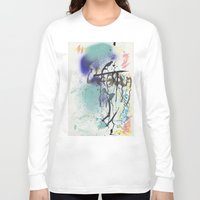 urban Long Sleeve T-shirts featuring Urban by Ana Guillén Fernández