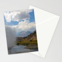 Geothermal Phenomonen California Eastern Sierra Stationery Cards