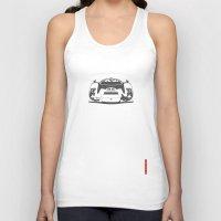 porsche Tank Tops featuring Porsche 906 by Remove Before . . .