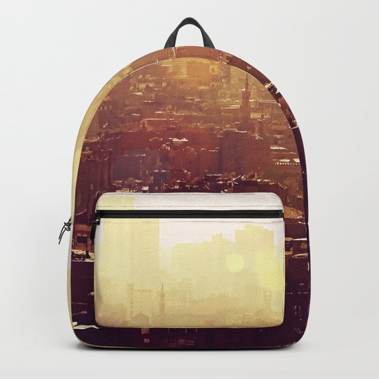 Sunset over Cairo Backpack
