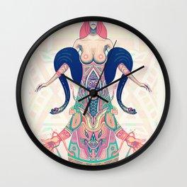The Black Mamba Wall Clock