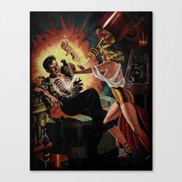 Cosmic Shock Canvas Print