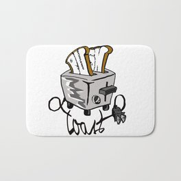 Push Toast Bath Mat