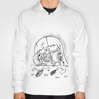 "skate Hoodies featuring ""Skate"" by Jorge Daszkal"