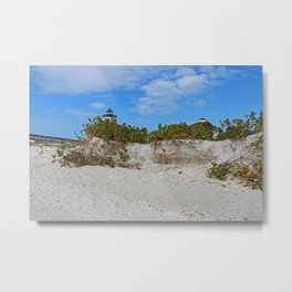 Dunes on Gasparilla II Metal Print