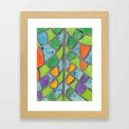 Butterfly Wing Pattern Framed Art Print