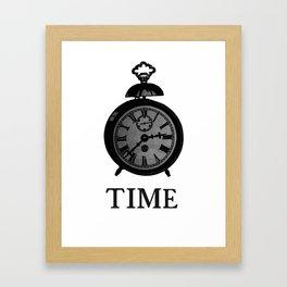 Time Piece Framed Art Print