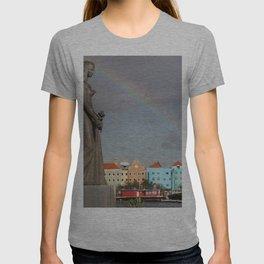 Rainbow over Willemstad Curaçao T-shirt
