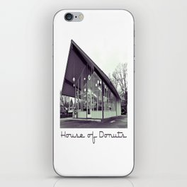 House of Donuts iPhone Skin