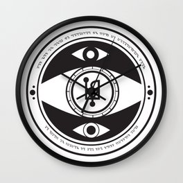 Ut Ultra Oculis Meis Wall Clock