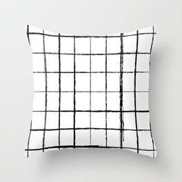Chicken Scratch #619 Throw Pillow