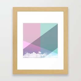 Colorful sky Framed Art Print