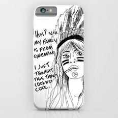 Attention Whore - BW Slim Case iPhone 6s