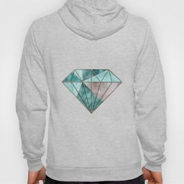 Gemstone And Geode Triangles Hoody