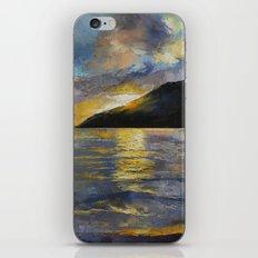 New Zealand Sunset iPhone & iPod Skin