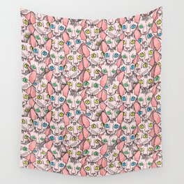 sphynx cats (naked cat) Wall Tapestry