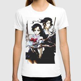 blood anime T-shirt