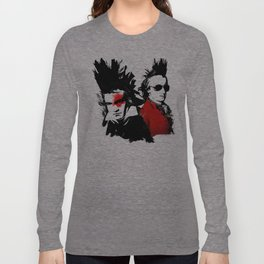 Beethoven Mozart Punk Composers Long Sleeve T-shirt