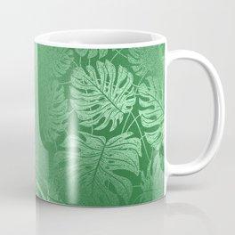 Green Leafs Pattern modern desig Coffee Mug