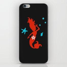 Mermaid Of Hong Kong iPhone Skin