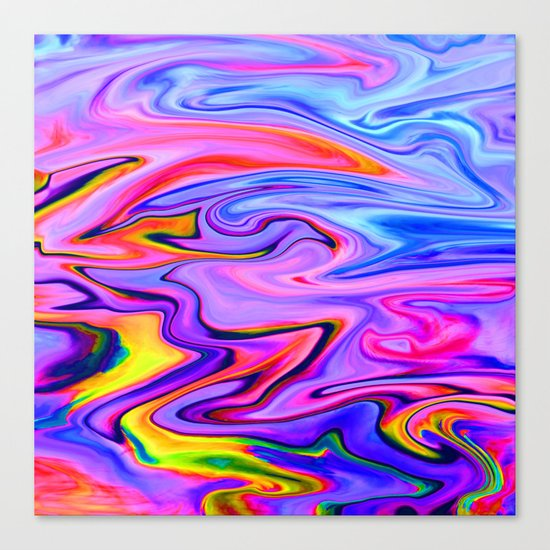 Marbled X Canvas Print