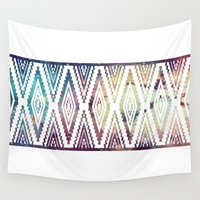 diamonds Wall Tapestries featuring Diamonds by Last Call