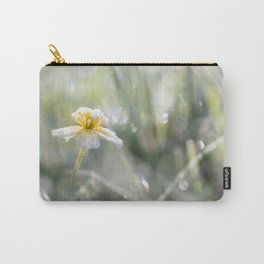 The last frost- Frozen buttercup Carry-All Pouch