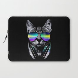 Dj Cat Laptop Sleeve