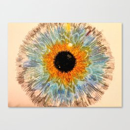 """""""Eyes without speaking confess the secrets of the heart"""" Canvas Print"""