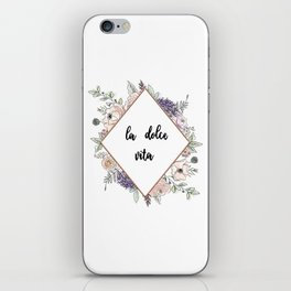Lettering and Watercolor #4 iPhone Skin