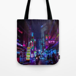 Cyber Seoul Tote Bag
