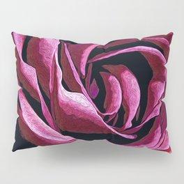 Rose Sketch Pillow Sham