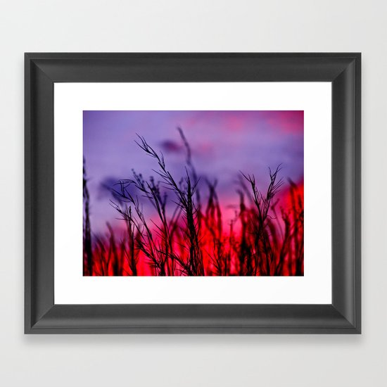 Colors to the West Framed Art Print