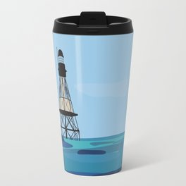 Fowey Rocks Lighthouse Travel Mug