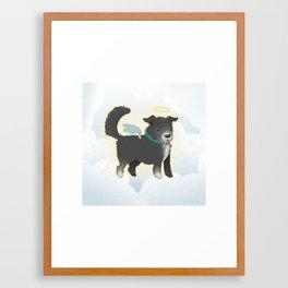 For Amy - Oreo Framed Art Print