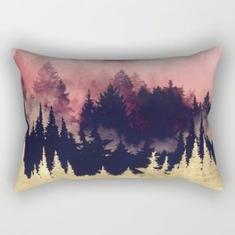 Evening Glow Rectangular Pillow