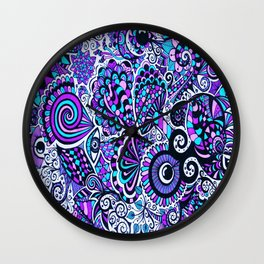 Mushy Madness Wall Clock