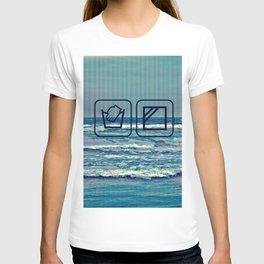 GLITCH wash your soul T-shirt