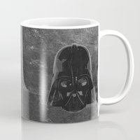 darth vader Mugs featuring Darth Vader by Some_Designs