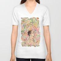 storm V-neck T-shirts featuring Storm by C86 | Matt Lyon