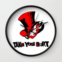 P5 - TAKE YOUR HEART Wall Clock