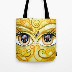Eve Eyes Tote Bag