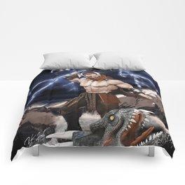 THOR Fantasy Art Print Comforters