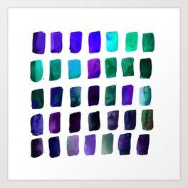 Brushstrokes 1ze by Kathy Morton Stanion Art Print