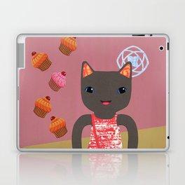 cupcake shower Laptop & iPad Skin