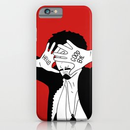 Klaus Hello Goodbye iPhone Case