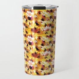 Passion Fruit Design by #MahsaWatercolor Travel Mug