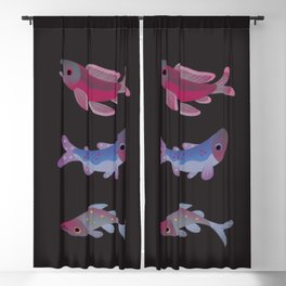 Salmon - dark Blackout Curtain