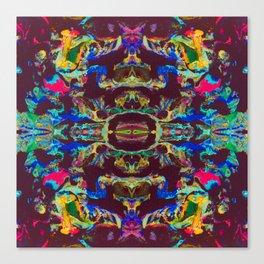 Internal Kaleidoscopic Daze- 17 Canvas Print