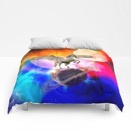 space unicorn. Comforters